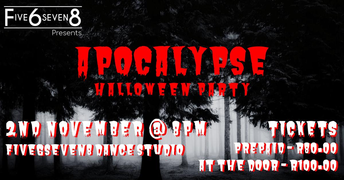 Apocalypse Halloween Party Johannesburg