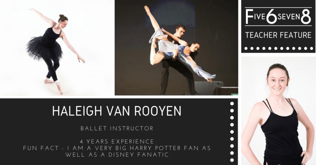 Teacher Feature H van Rooyen
