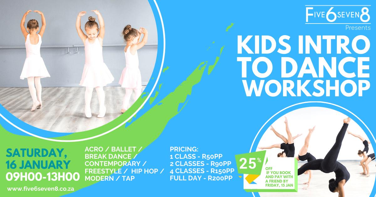 Kids Intro to Dance