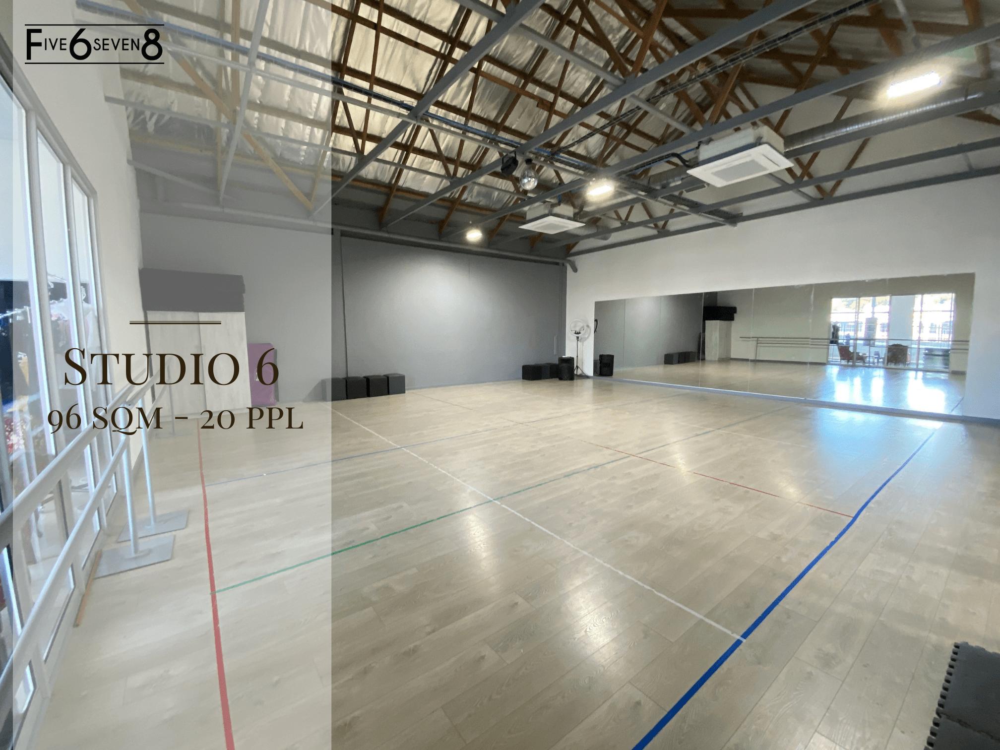 Studio 6 - Venue Hire in Randburg