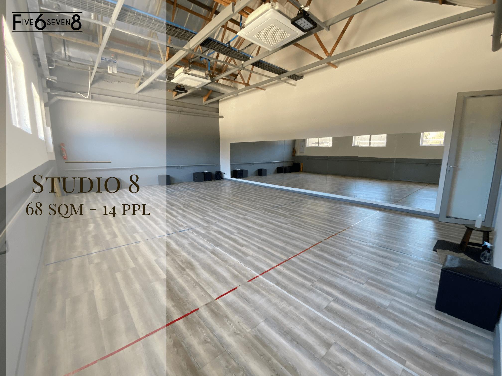 Studio 8 - Venue Hire in Randburg