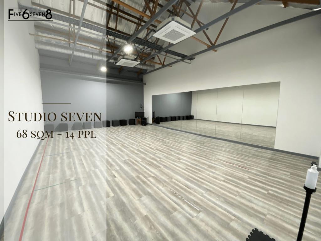 Studio Seven - Venue Hire in Randburg