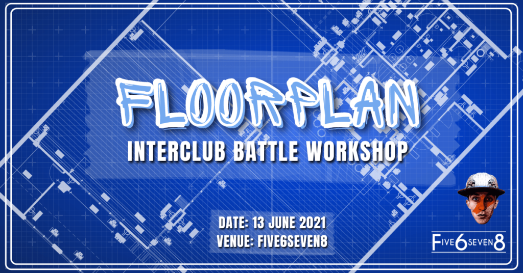 Floorplan Interclub Battle Workshop
