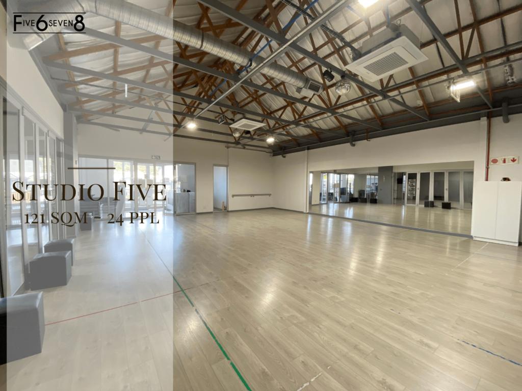 Studio Five - Venue Hire in Randburg